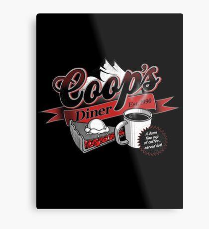 Coop's Diner Metal Print
