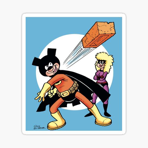 Brickman and Trowel Sticker