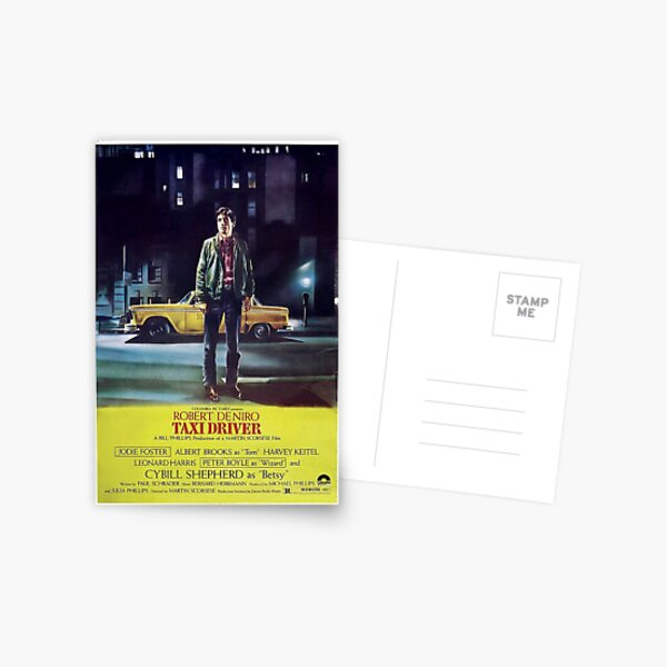 Classic Movie Poster - Taxi Driver Postcard