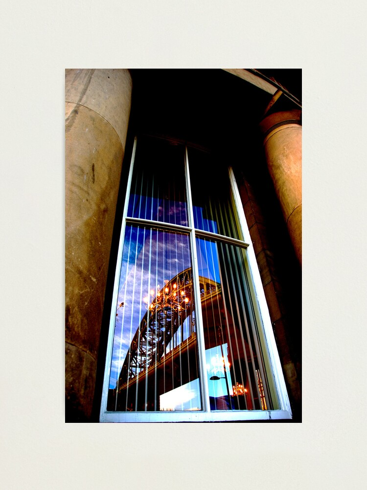 Alternate view of bridge Photographic Print