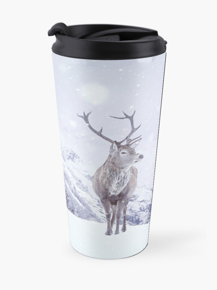 "Alternate view of ""Kingdom Of Winter"" by Cat Burton Travel Mug"