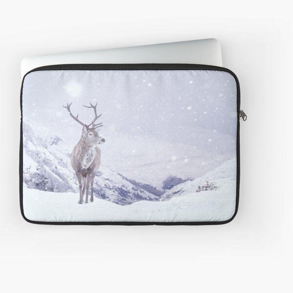 """Kingdom Of Winter"" by Cat Burton Laptop Sleeve"