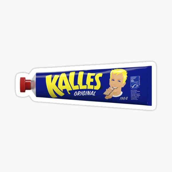 Kalles Kaviar Sticker