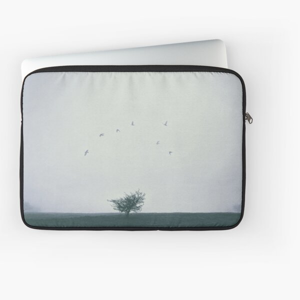 """Lost In The Fog"" by Cat Burton Laptop Sleeve"