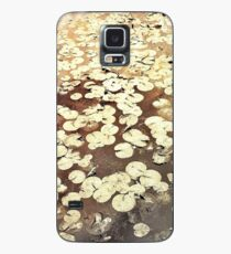 Golden Lily Pads - Art Photography - Nature Decor Case/Skin for Samsung Galaxy