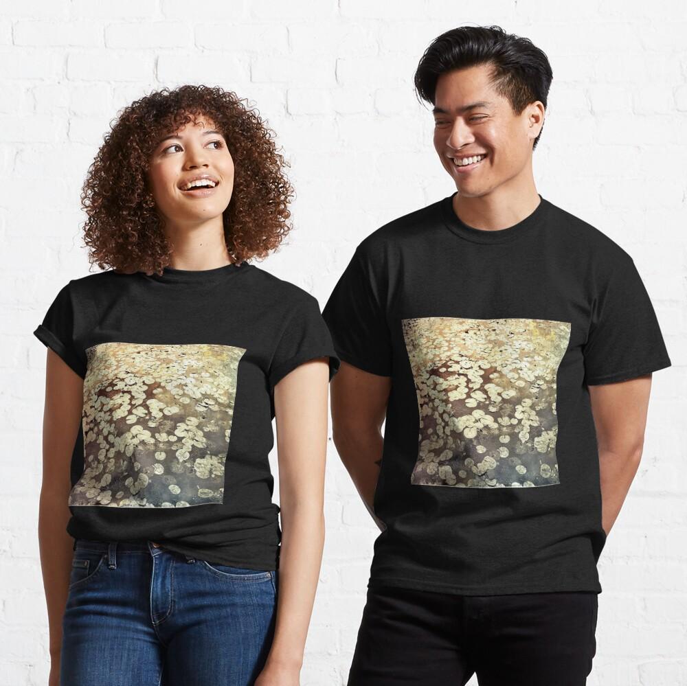 Golden Lily Pads - Art Photography - Nature Decor Classic T-Shirt