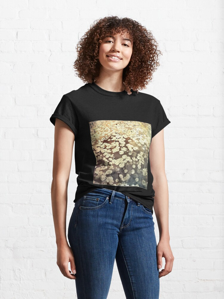 Alternate view of Golden Lily Pads - Art Photography - Nature Decor Classic T-Shirt