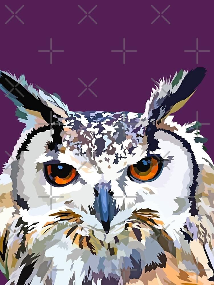 Owly nights by Elviranl