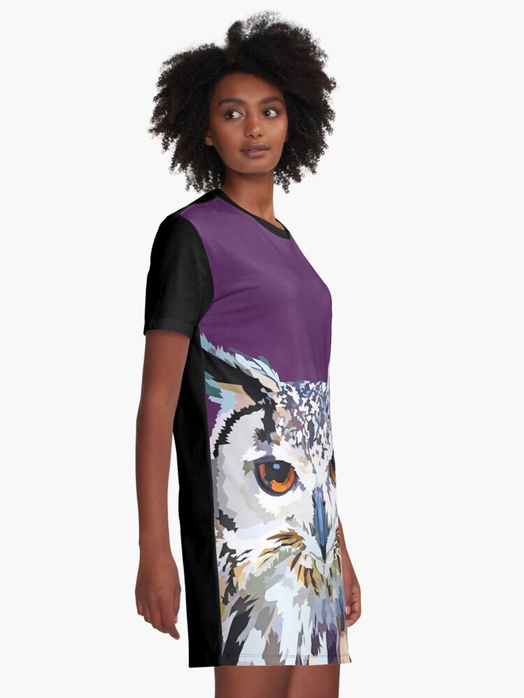 Alternate view of Owly nights Graphic T-Shirt Dress