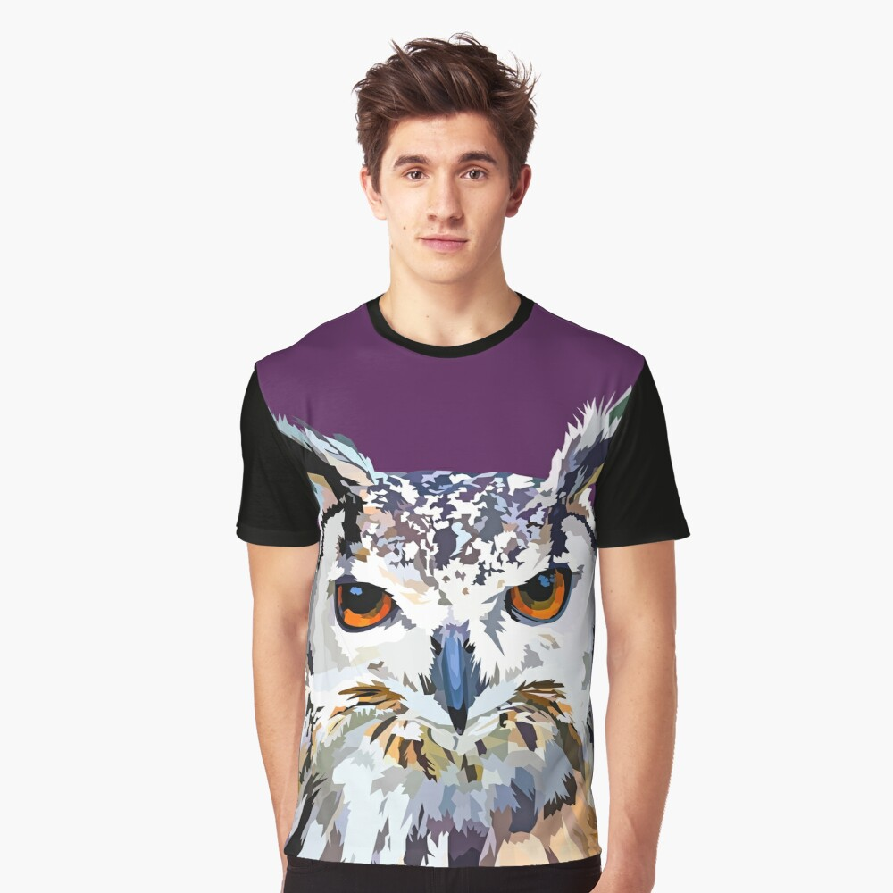 Owly nights Graphic T-Shirt