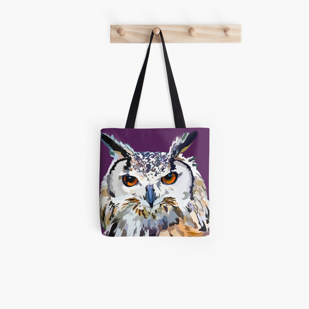 Owly nights Tote Bag