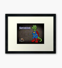 Superdino - Jurassic League Framed Print