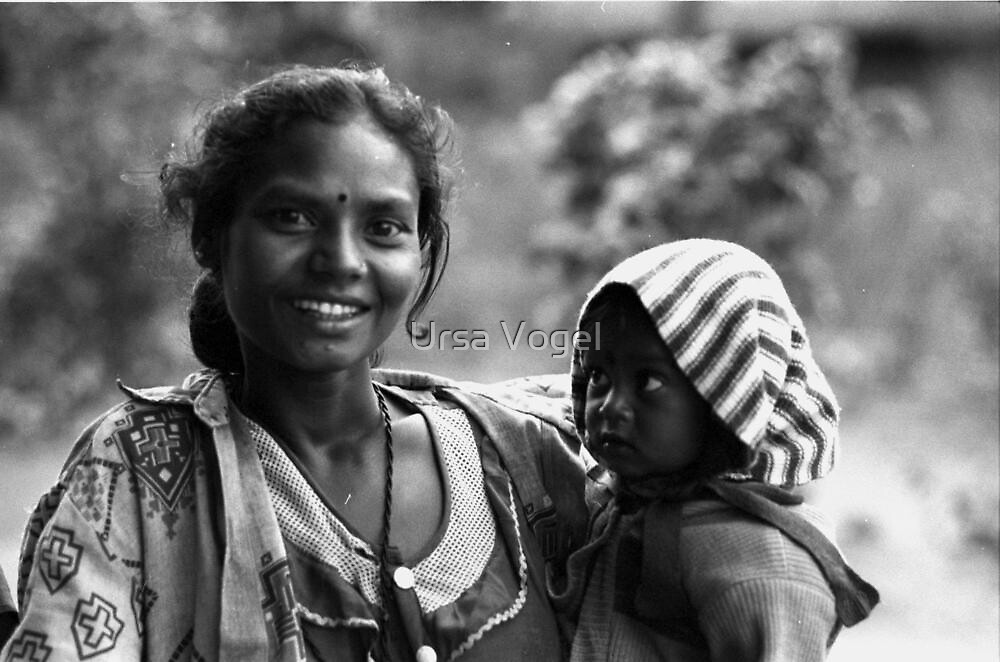 mother's pride by Ursa Vogel