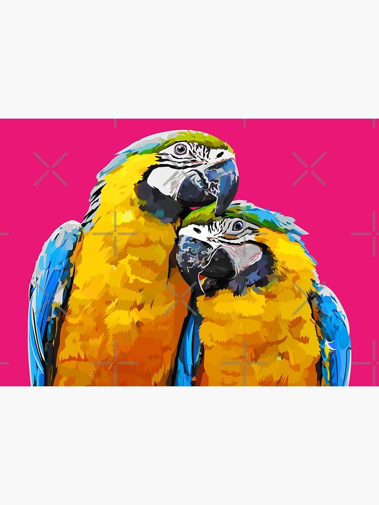 Two lovely parrots by Elviranl