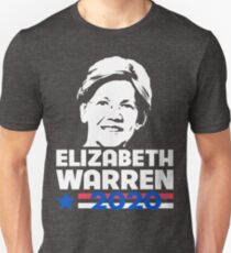 Elizabeth Warren für President 2020 Slim Fit T-Shirt
