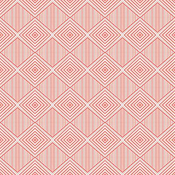 Geometric Coral Chevron Pattern by YakutKeskin