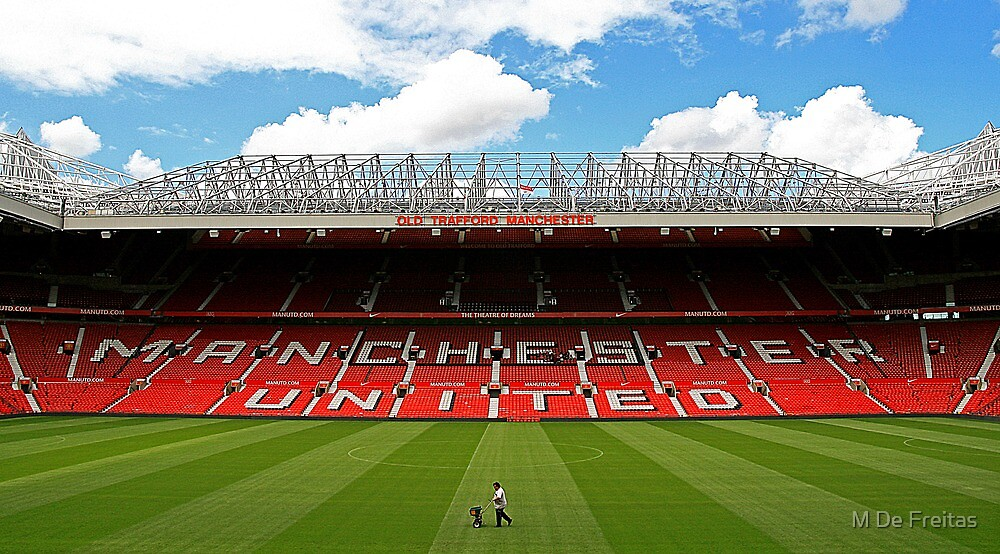 Old Trafford by M De Freitas