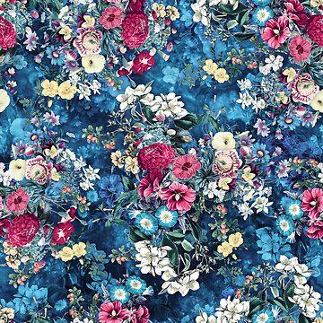 Summer Garden Darkblue by rizapeker