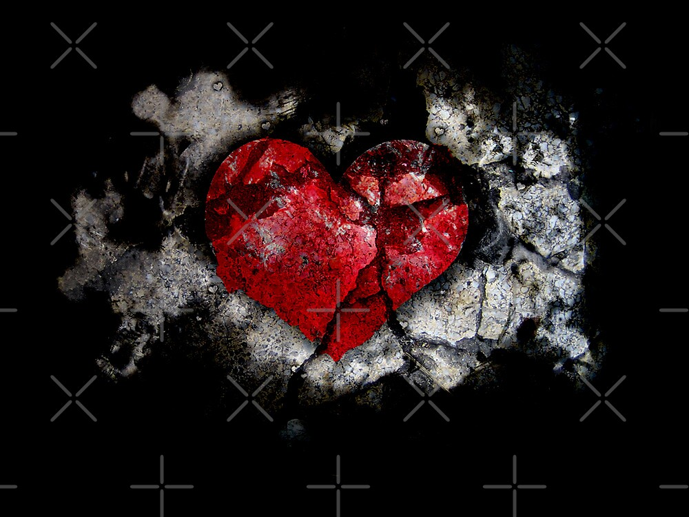 The deeper the love the deeper the wounds by Orlando Rosado
