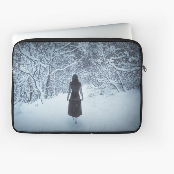 """Sleepwalking 1"" by Cat Burton Laptop Sleeve"