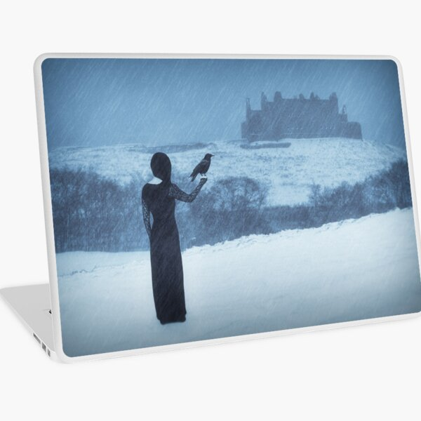 """Sleepwalking 2"" by Cat Burton Laptop Skin"