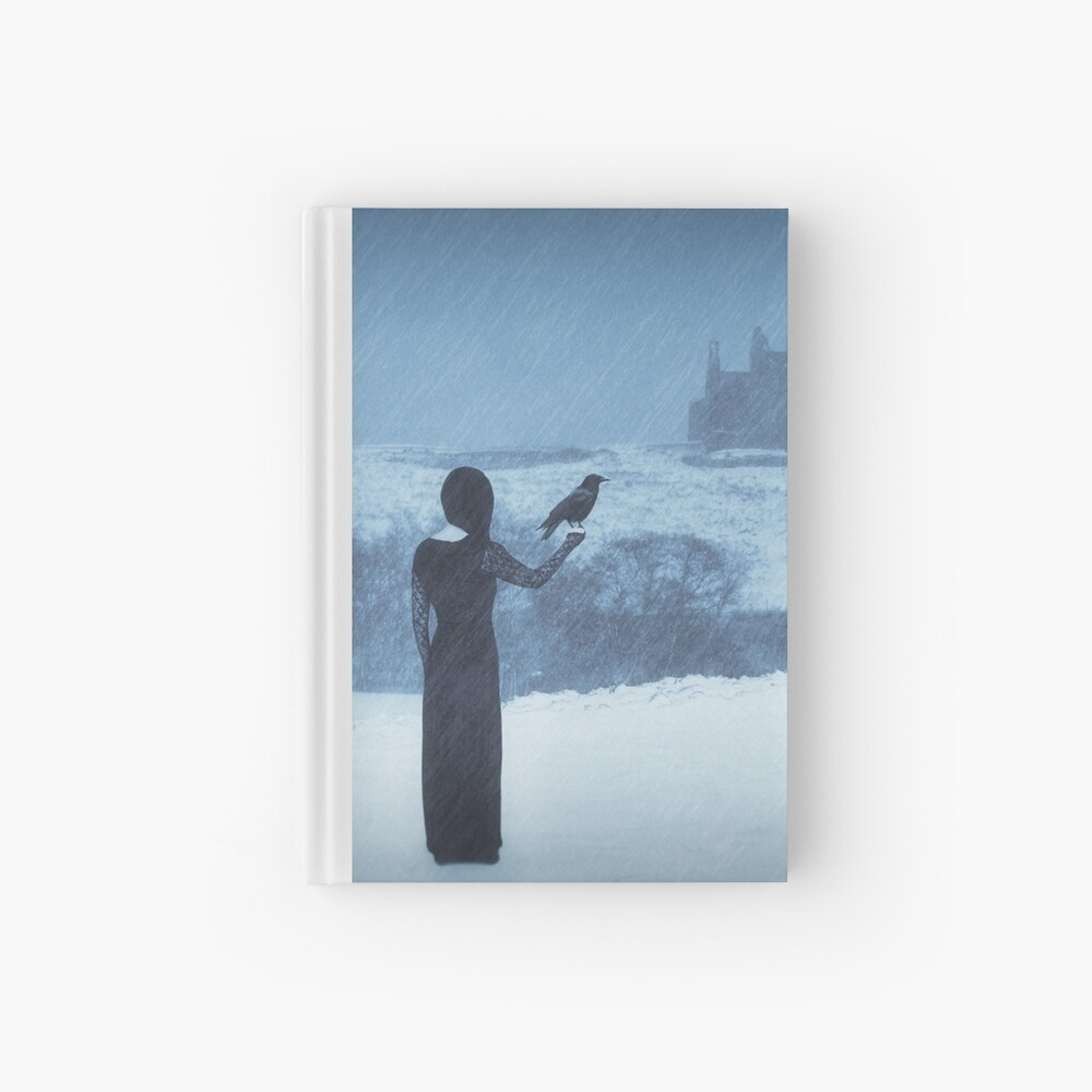 """Sleepwalking 2"" by Cat Burton Hardcover Journal"
