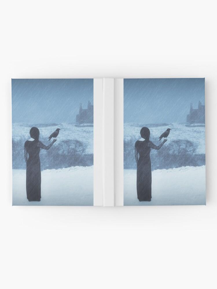 "Alternate view of ""Sleepwalking 2"" by Cat Burton Hardcover Journal"