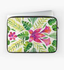 Tropical Symmetry – Pink & Green Laptop Sleeve