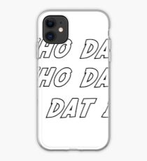 who dat iphone case