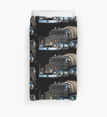 Cement Mixer Truck Duvet Cover
