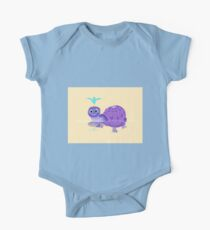 The Purple Turtle And A Bluebird Of Glee One Piece - Short Sleeve