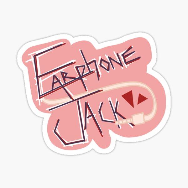 Kyoka Jiro: Earphone Jack Sticker