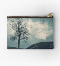 """The Flocking Tree"" by Cat Burton Studio Pouch"