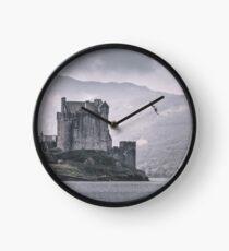 """The Messenger"" by Cat Burton Clock"