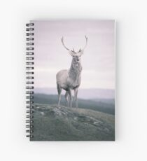 """""""The Prince"""" by Cat Burton Spiral Notebook"""