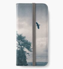 """""""The Tower Of Kinnoull Hill"""" by Cat Burton iPhone Wallet/Case/Skin"""