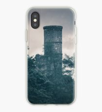 """""""The Tower Of Kinnoull Hill"""" by Cat Burton iPhone Case"""