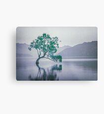"""The Tree In The Lake"" by Cat Burton Metal Print"