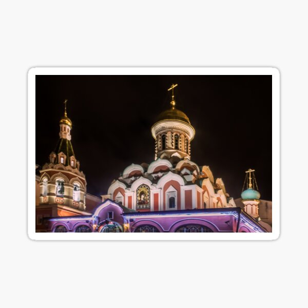 Kazan Cathedral,  Moscow Sticker