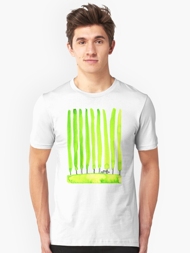 Enthusiastic cypress Unisex T-Shirt Front