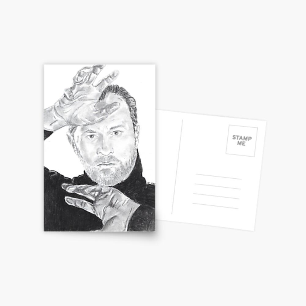 Mark Gatiss Postkarte