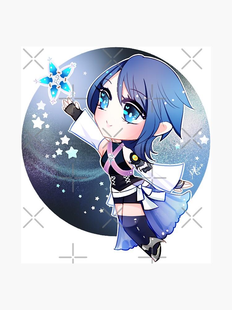 Kingdom Hearts Aqua by Rumby