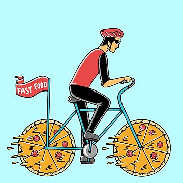 Pizza Bicycle by coffeeman