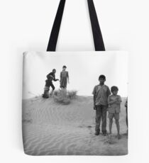 what some girls do to get noticed by the boys! Tote Bag