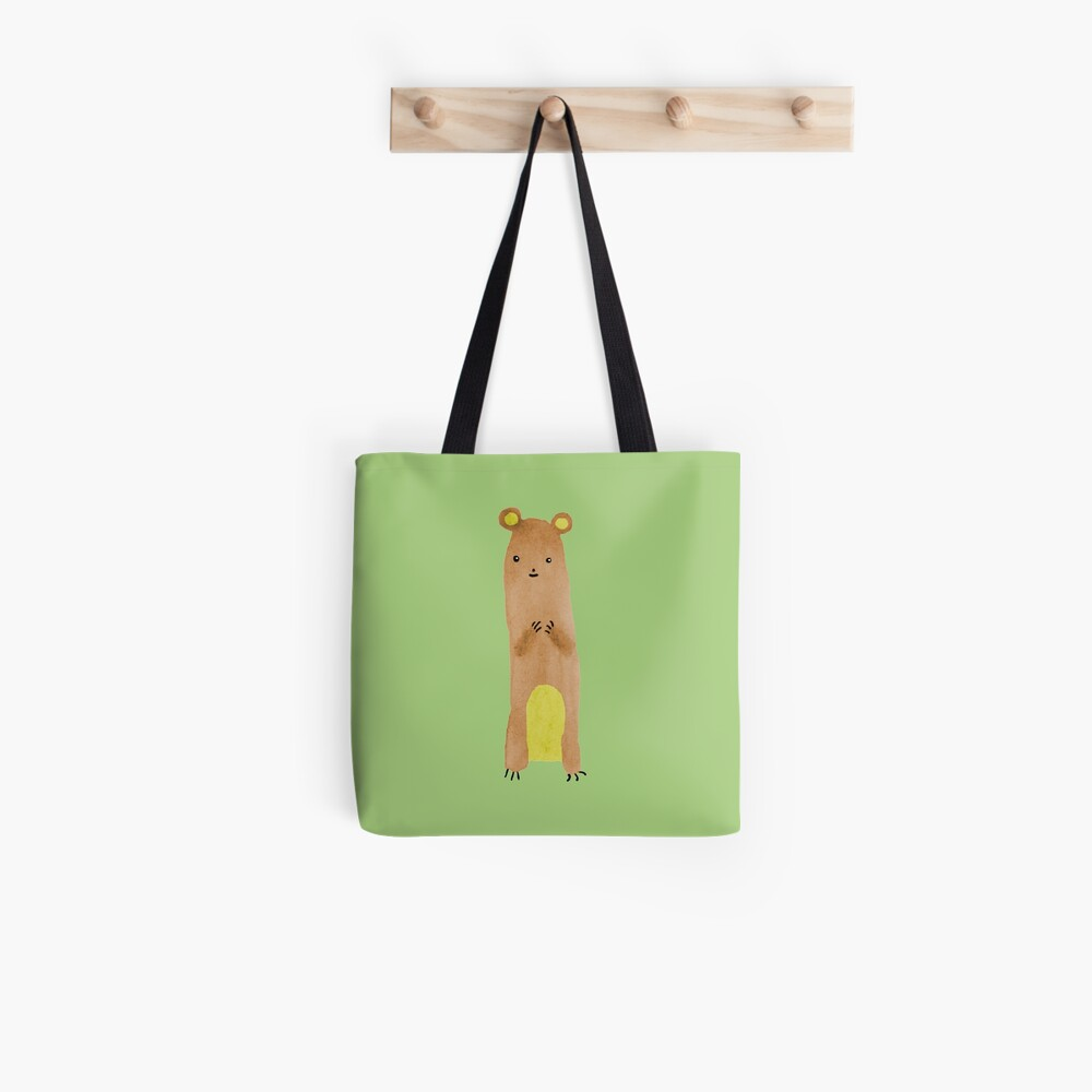 Slewfoot the Grizzly Cub Tote Bag