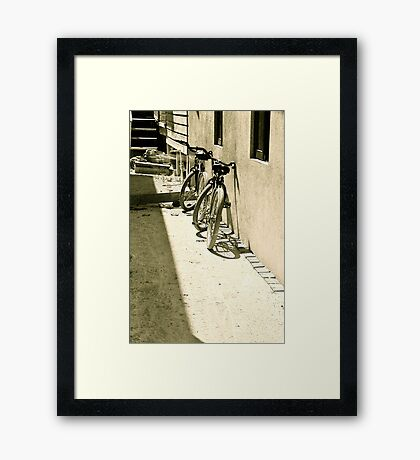 They went everywhere together... Framed Print