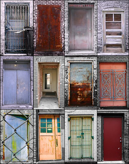 Doors of Joplin by Benjamin Sloma