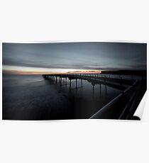 Saltburn Pier, Sunrise (II) Poster