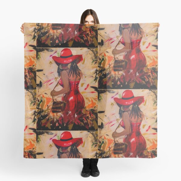 Girl on Fire Scarf