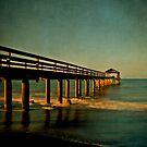 Waimea Pier by Suzanne Cummings